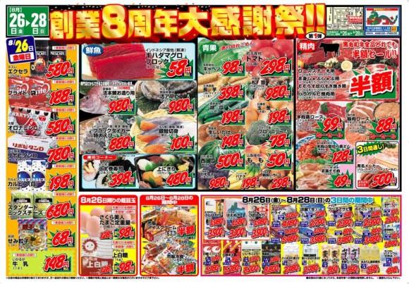ドラゴン広告チラシ20110826表800