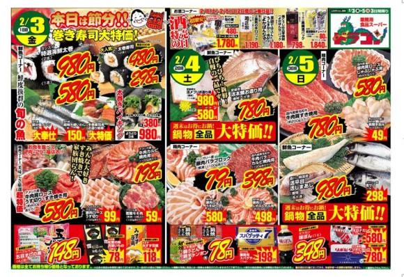ドラゴン広告チラシ20120203表800