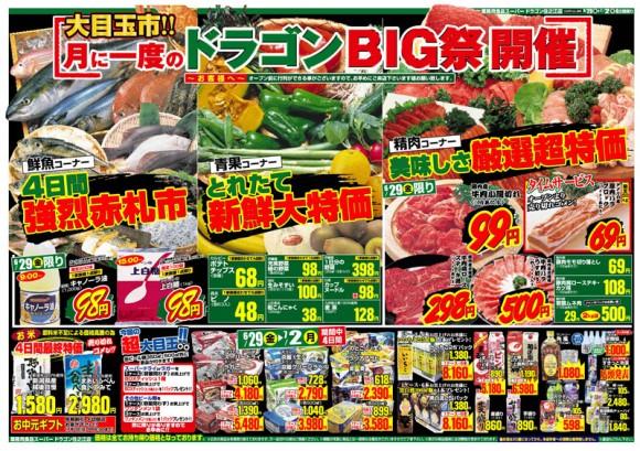 ドラゴン広告チラシ20120629表800