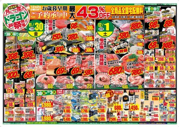 ドラゴン広告チラシ20121130表800