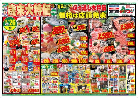 ドラゴン広告チラシ20121226表800