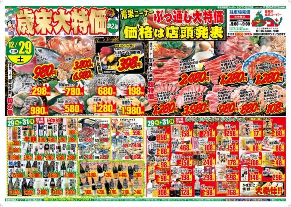 ドラゴン広告チラシ20121229表800