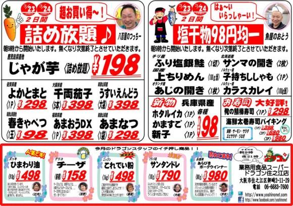 ドラゴン広告チラシ20130323裏800