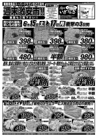 ドラゴン広告チラシ20130615表800