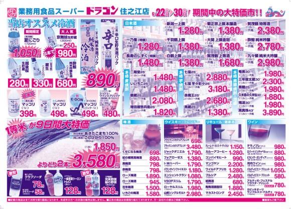 ドラゴン広告チラシ20130622裏800