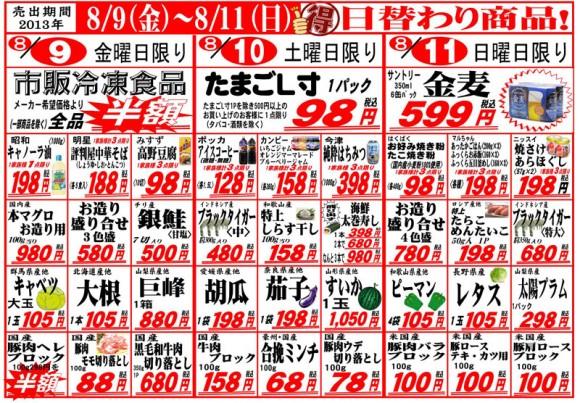 ドラゴン広告チラシ20130809表800