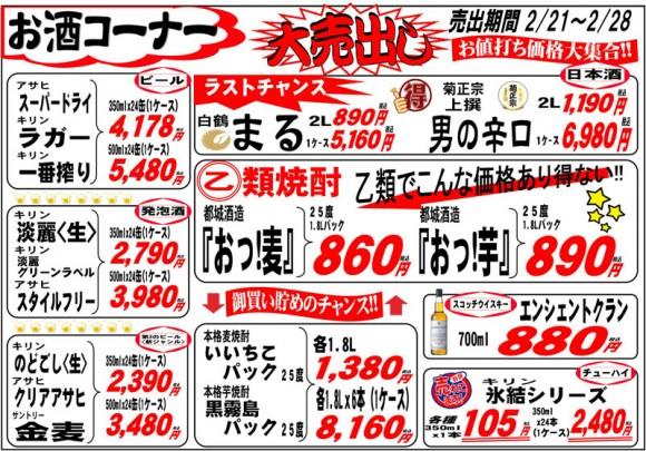 ドラゴン広告チラシ20140221表800