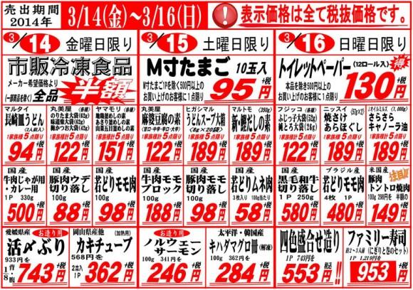 ドラゴン広告チラシ20140314表800