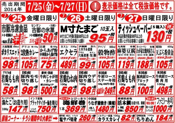 ドラゴン広告チラシ20140725表800