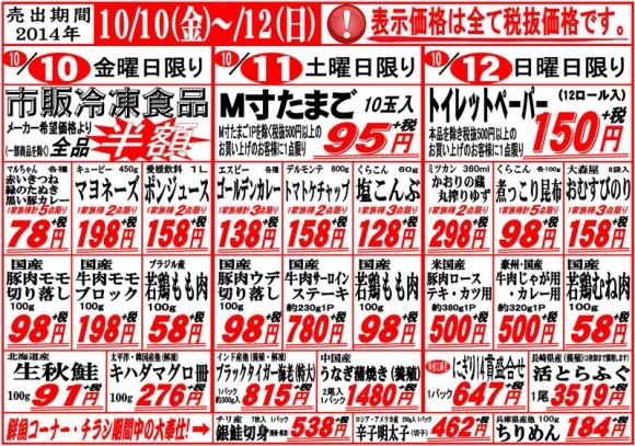ドラゴン広告チラシ20141010表800