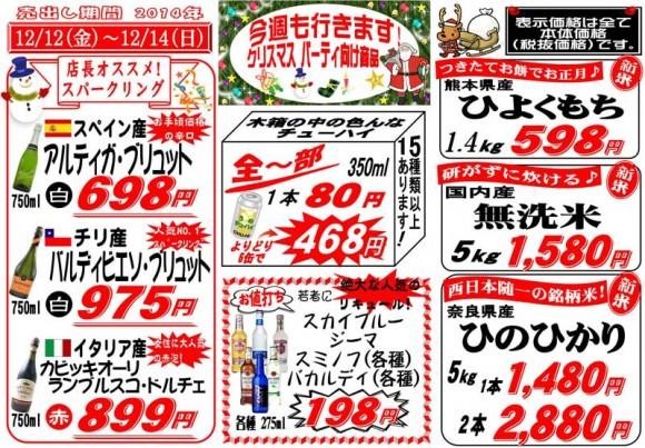ドラゴン広告チラシ20141212表800