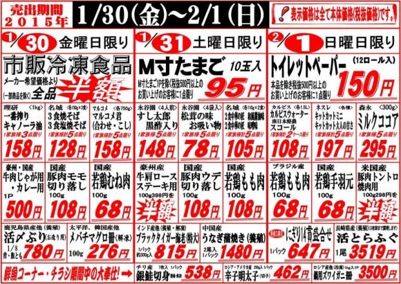 ドラゴン広告チラシ20150130表800