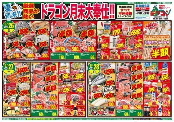 ドラゴン広告チラシ20150626表800