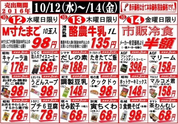 ドラゴン広告チラシ20161012裏800