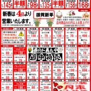 【2017年1月の特売カレンダー】